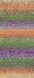 Пряжа Nako Artist Цвет.85924 Желто-лиловый