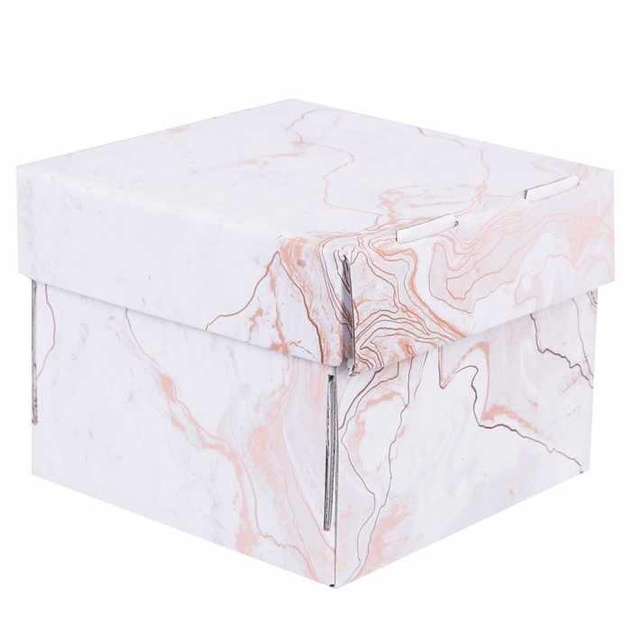 2870910 Складная коробка «Мраморная»