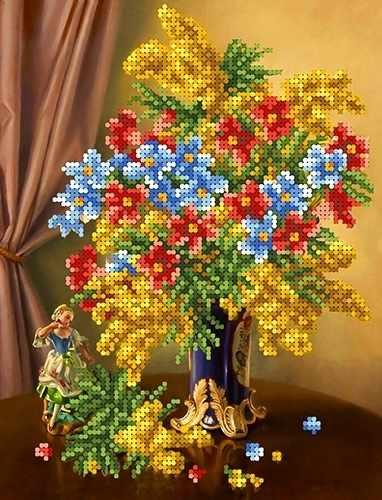 КБЦ 4031 АКЦИЯ! Весеннее цветение - схема (Каролинка)