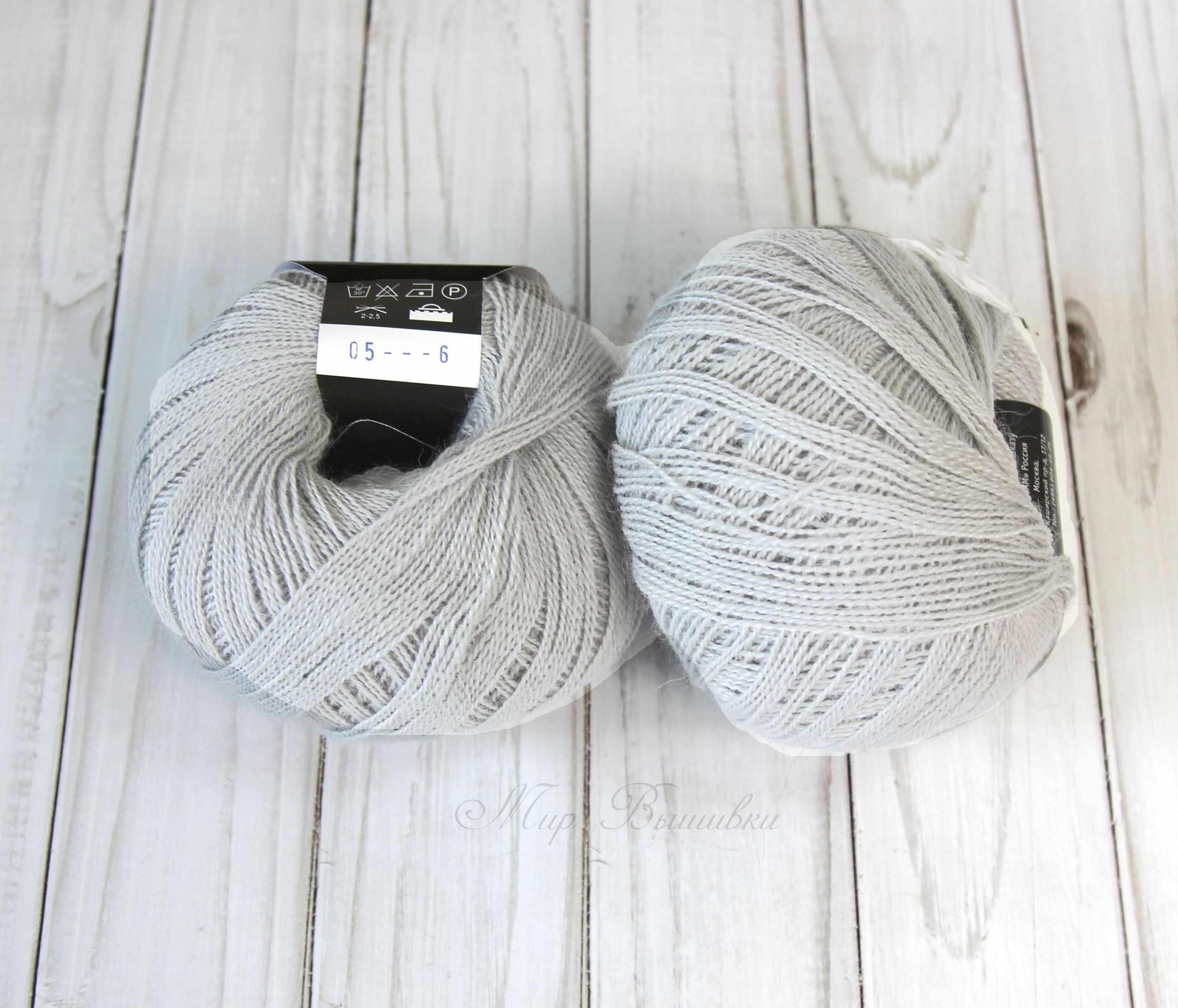 Пряжа Seam Alpaca baby lux Цвет.05 Светло - серый