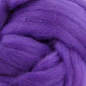 Пряжа Пехорка Шерсть для валяния полутонкая Цвет.78 Фиолетовый