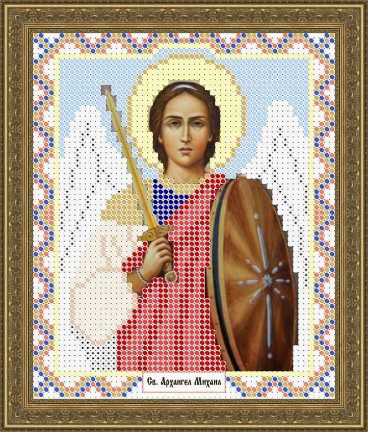 КАЮ1241 Св. Архангел Михаил - схема для вышивания (Матрёшкина)