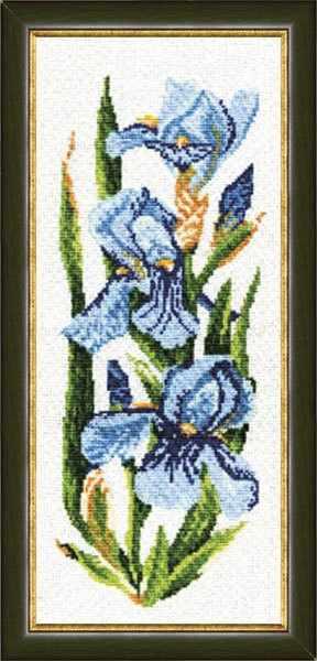 ЦК-003 Ирисы. Цветочная коллекция