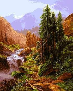 0831Peisaj din Muntii Alpi