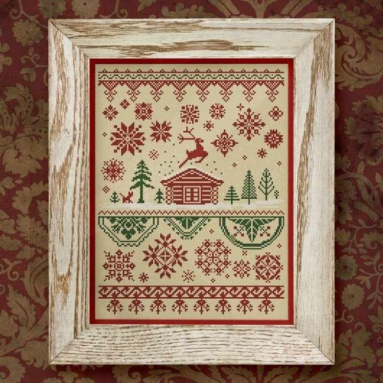 0006-СКР-С Серебряное копытце. Рождество. - схема для вышивания (OwlForest)