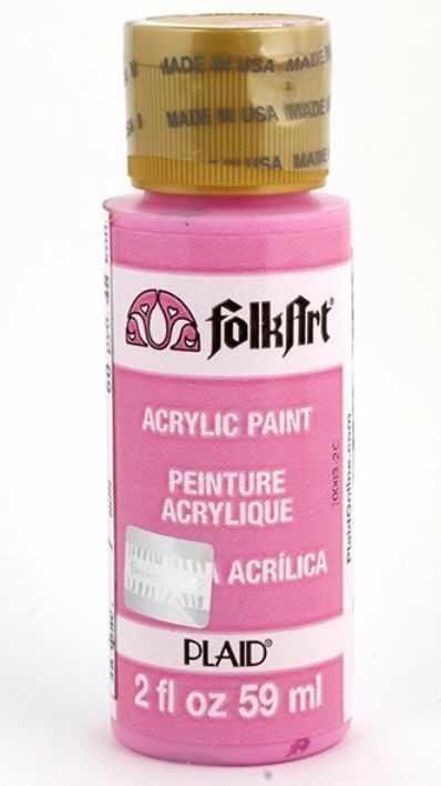 Акрил. краска FolkArt, щ.розовый, 59 мл (Арт. PLD-00319)
