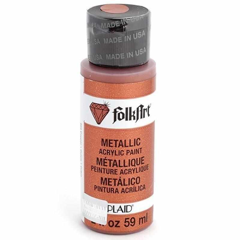 Акрил.краска FolkArt металлик, медь, 59 мл (Арт. PLD-00664)