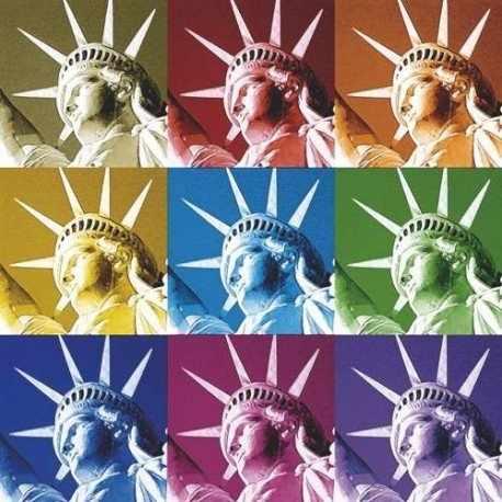 """CL-LN0755 Салфетки бумажные для декупажа, 33х33 см, """"Статуя свободы"""""""