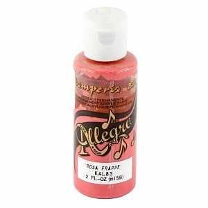"""KAL83 Акриловая краска """"Allegro"""",  59 мл, 3,4хh10 см  холодный розовый ."""