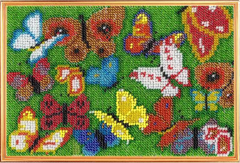"0153-МН Панно ""Бабочки"" (ВМ)"
