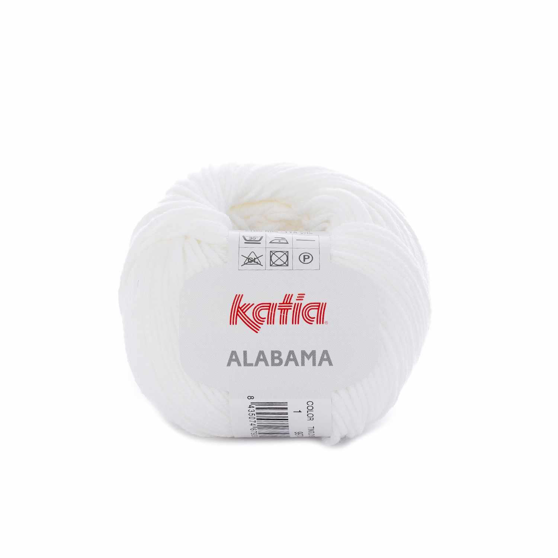 Пряжа Katia Alabama Цвет.1