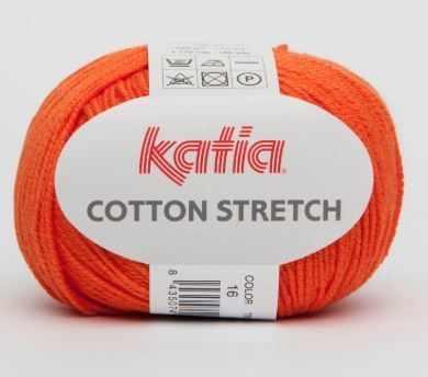 Пряжа Katia Cotton Streich Цвет.16
