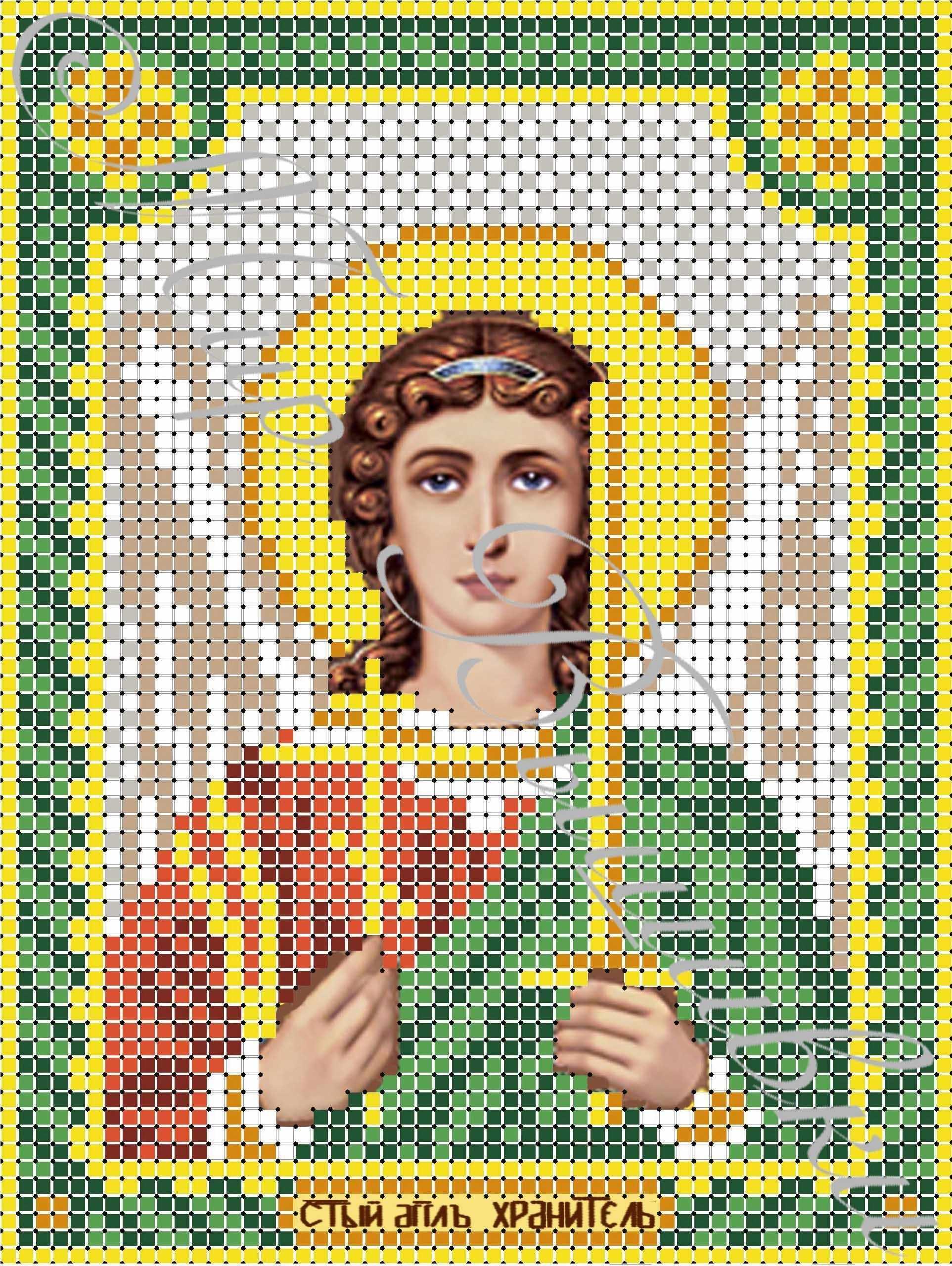 ДА5-005 Ангел Хранитель - схема для вышивания (Наследие)