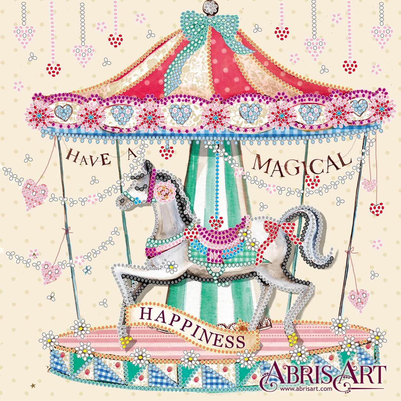 """АС-549 """"Карусель счастья"""" - схема для вышивания (Абрис Арт)"""