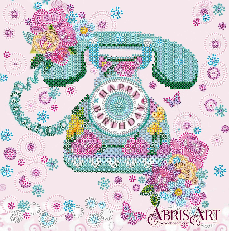 """АС-550 """"Ожидание"""" - схема для вышивания (Абрис Арт)"""