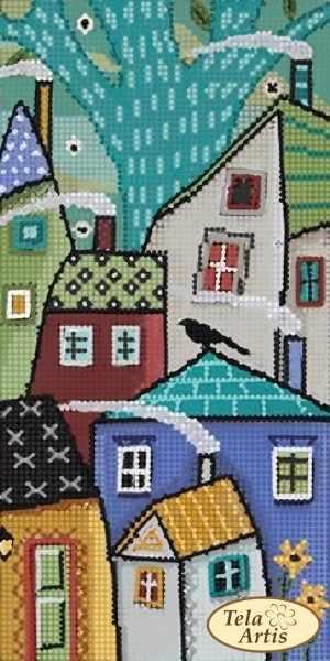 ТМ-118 - Сказочный город - 3 - схема для вышивания (Tela Artis)