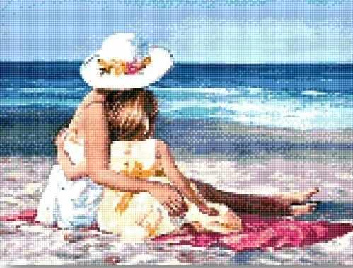 912001 На пляже