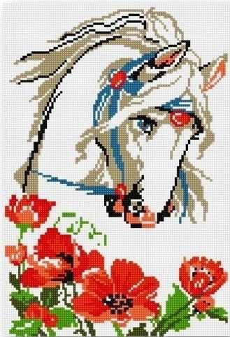 710AY-167 Белая лошадь