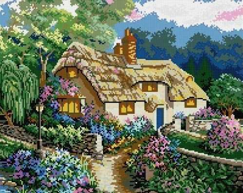 71001-43 Домик в деревне