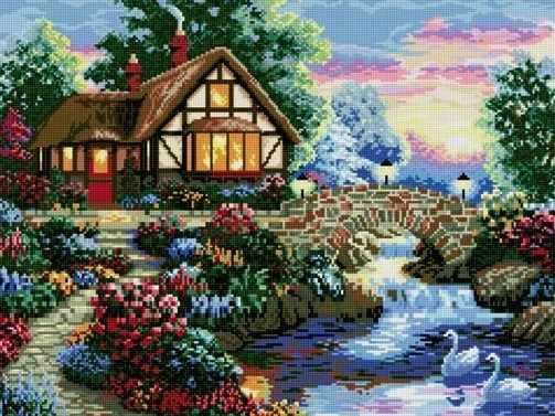 71001-45 Дом у реки