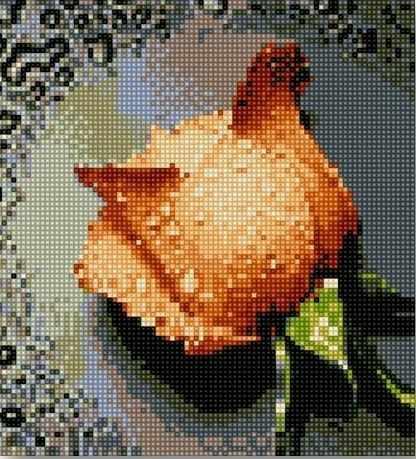 71003-06 Чайная роза