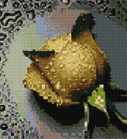 71003-07 Коричневая роза