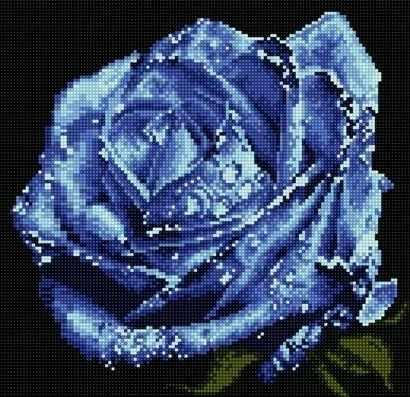 71003-58 Голубая роза