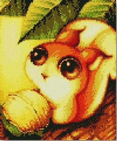 71004-71 Милая белочка