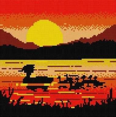71004-83 Африканские утки