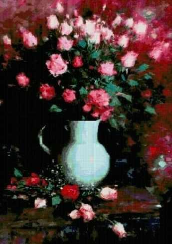 71005-51 Букет розовых роз