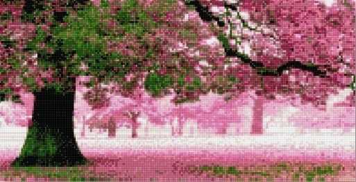 71008-09 Розовый сад