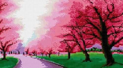 71008-51 Розовая аллея