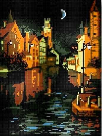 71015-04 Ночная Венеция