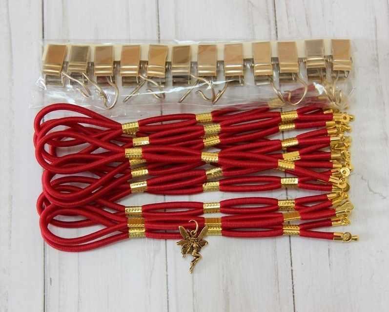 001110 Боковая натяжка тугая, красный бархат