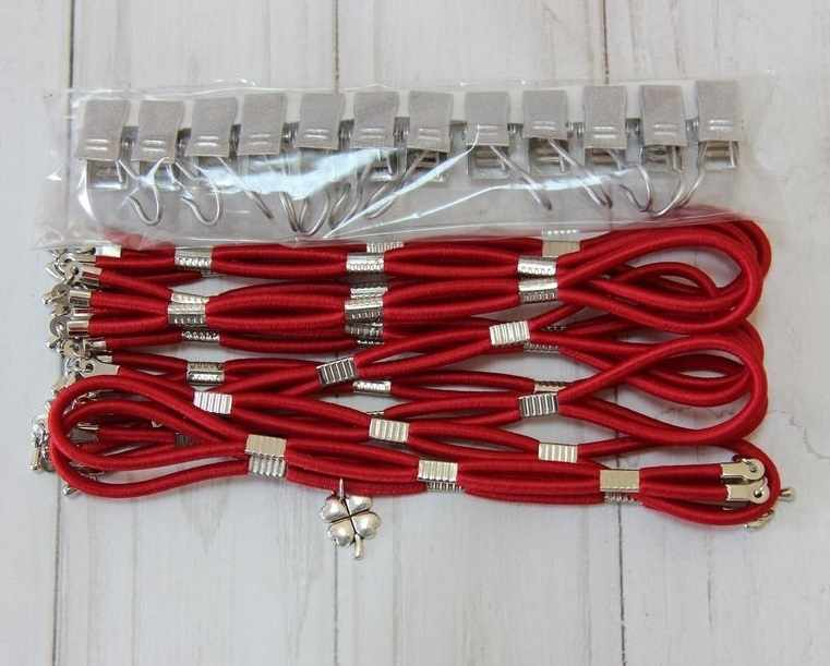 002111 Боковая натяжка тугая, красный бархат