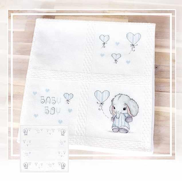 BO102 Детское одеяло (Luca-S)