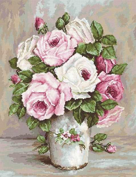 B574 Смешанные розы (Luca-S)