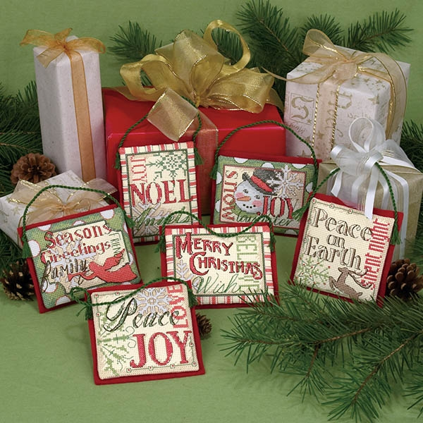 8827-DMS Украшения, Рождественские пожелания