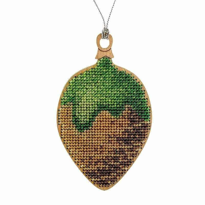 FLK-062 Набор для вышивания бисером по дереву