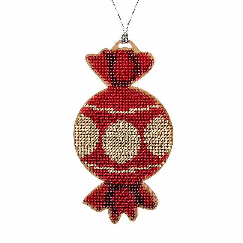 FLK-064 Набор для вышивания бисером по дереву