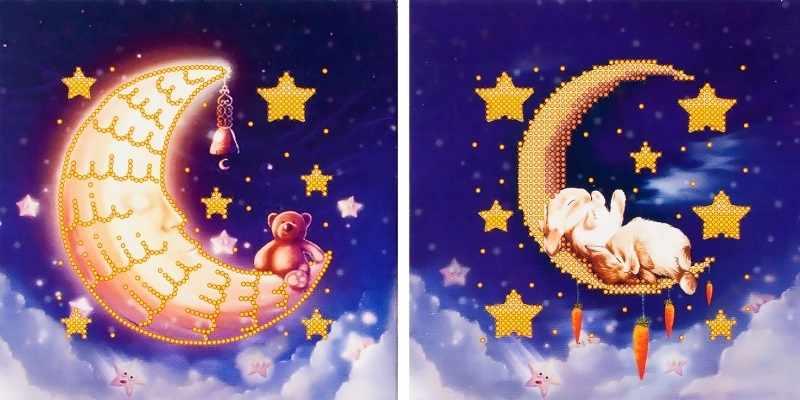 """FLS-053D Схема для вышивания бисером """"Сладкий сон"""""""