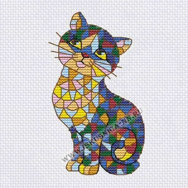 659 Мозаика. Кошка