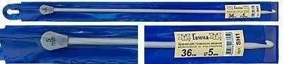 """Крючок для тунисского вязания """"Гамма"""" SH1 36 см d=5 мм"""