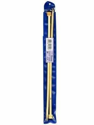 """Спицы прямые """"Гамма"""" BL2 бамбук 9,0 мм 35 см"""