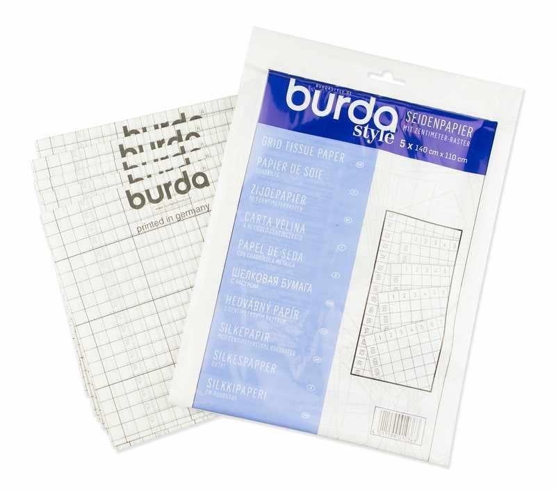 1036 A Калька с разметкой Burda 150см*110см (5 шт)