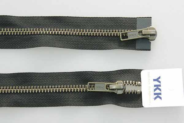 67191-580 Молния металл, двухзамковая разьемная 60см