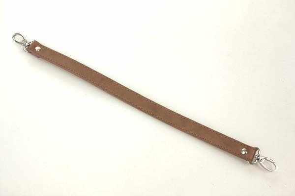 Ручка короткая 42см цв.коричневый