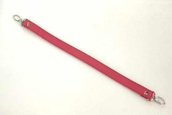 Ручка короткая 42см цв.красный