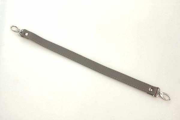Ручка короткая 42см цв.серый