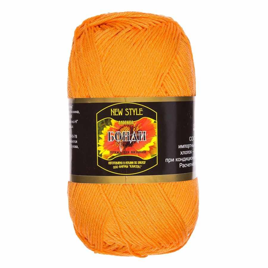 Пряжа Камтекс Бонди Цвет.35 Оранжевый